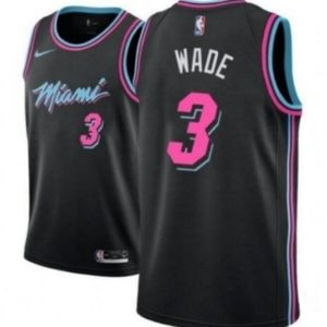 Men's Dwyane Wade Miami Heat Jersey NBA 3